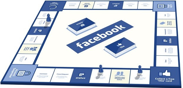 FaceBook monopoly board